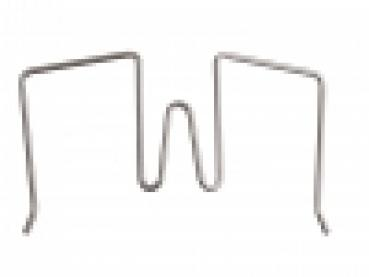 Flexible dividing wall hook silver 11-30 mm